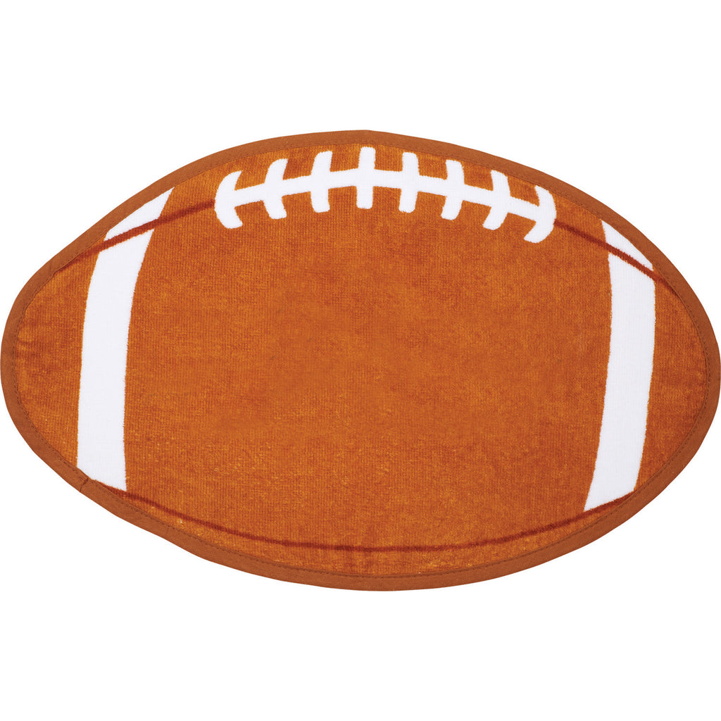 football-shaped-stock-design-sport-towel