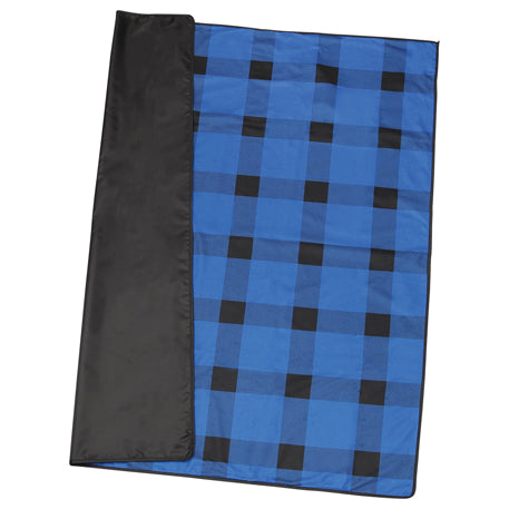 buffalo-plaid-fleece-picnic-blanket