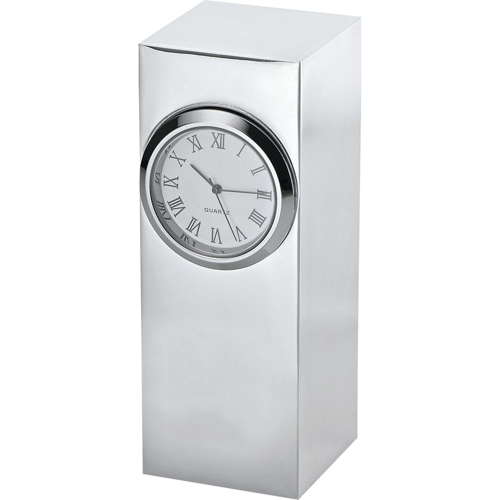 radiance-silver-plated-column-clock