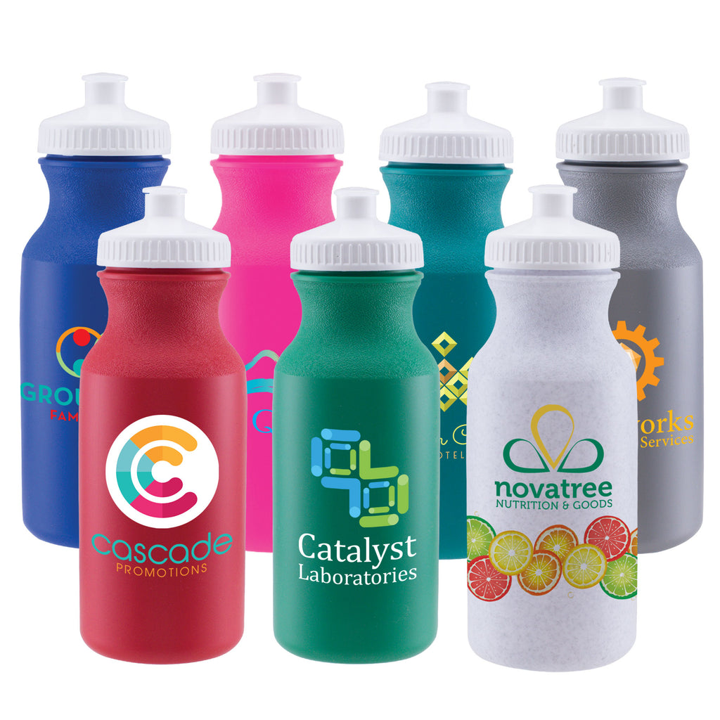 Bottles Bike II - 20 oz. Sports Bottle - ColorJet