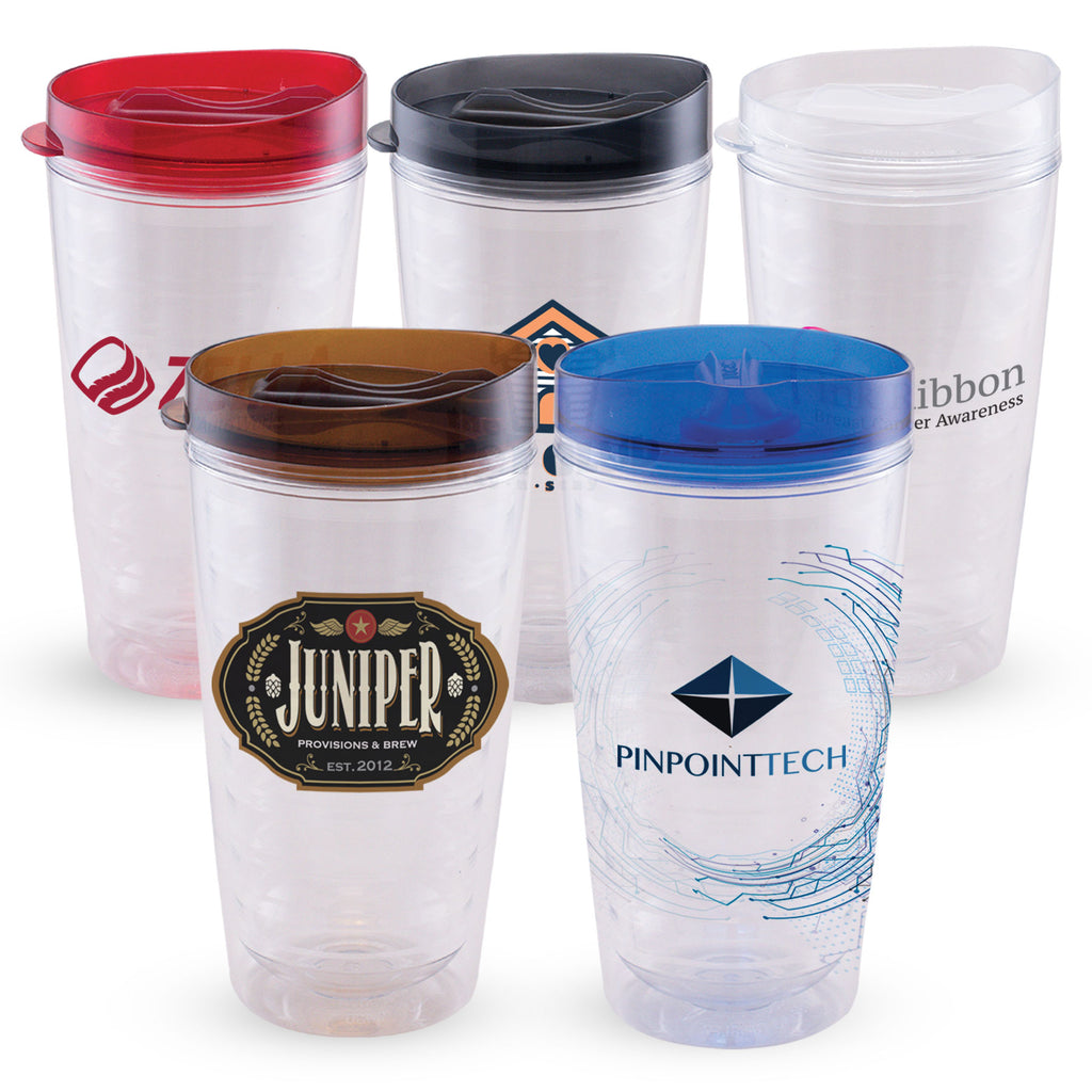 Cups & Mugs Tornado - 16 oz. Double Wall Tritan Tumbler - ColorJet
