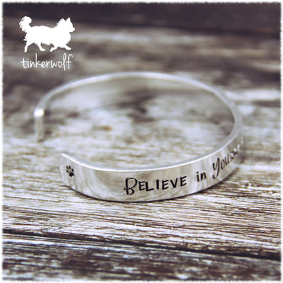 Believe in yourself cuff