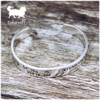 Extraordinary nature of the canine soul cuff