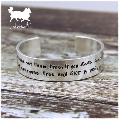 Set everyone free and get a dog cuff