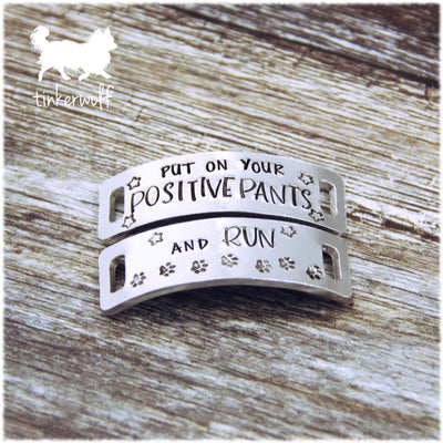 Put on your positive pants and run trainer tags