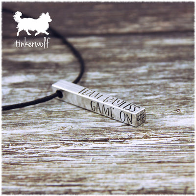 Personalised name pendant