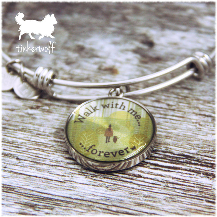 WALK WITH ME FOREVER Bangle