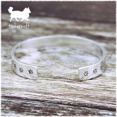 Walk with me forever cuff