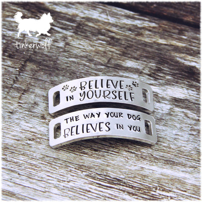 Believe in yourself trainer tags