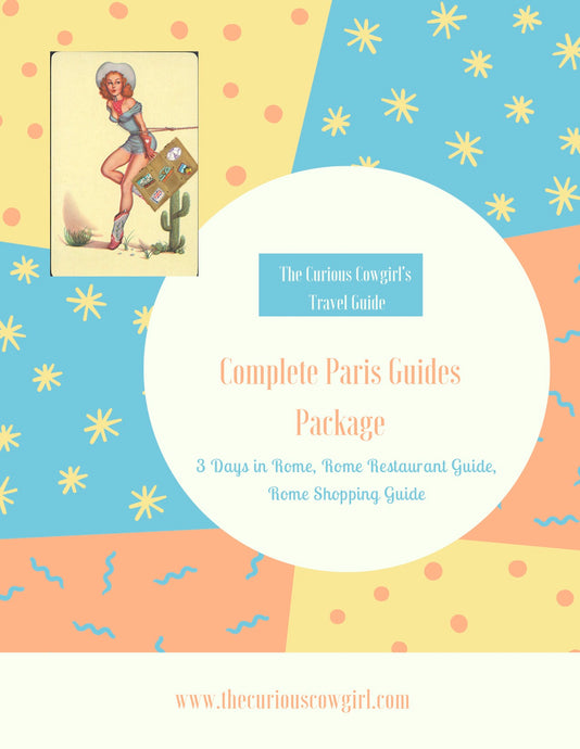 Combined Paris Guides Package