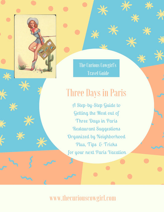 Three Days in Paris Guide