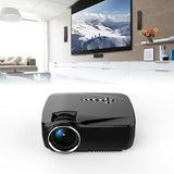 Wifi Bluetooth Mini LED Portable Projector - Sdise