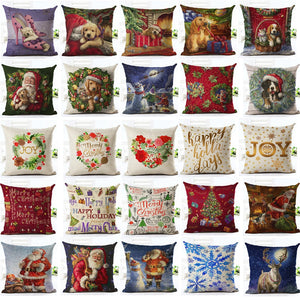 Merry Christmas Pillow Case - Sdise
