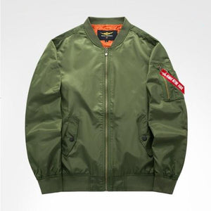2019 High quality Army Green Military motorcycle jacket