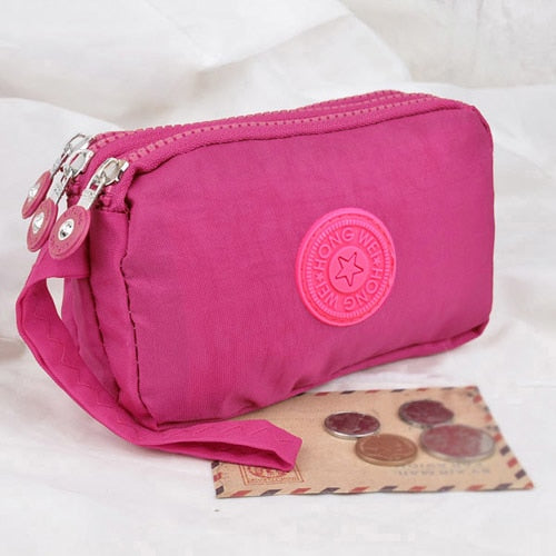 CCS 3 Zippers Lady Purses - Sdise