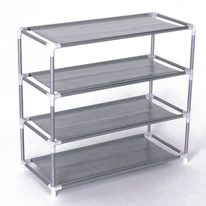 Non-woven Fabric Storage Shoe Rack - Sdise