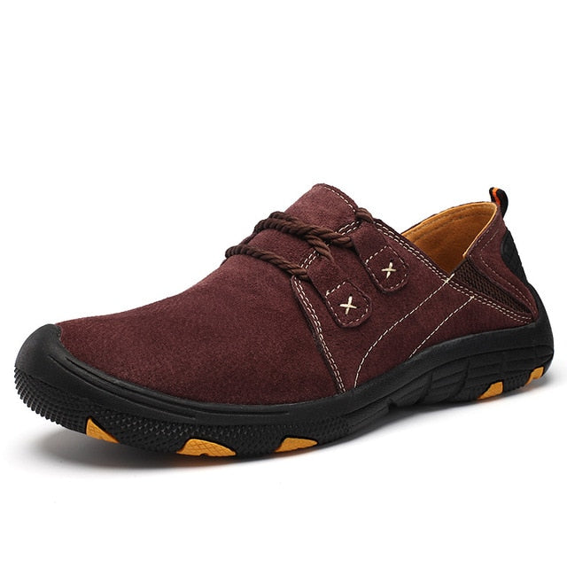 MVVT Comfort Genuine Leather Casual Shoes - Sdise