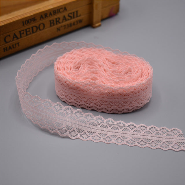 10 yards Lace Ribbon Tape Width 28MM Trim Fabric - Sdise