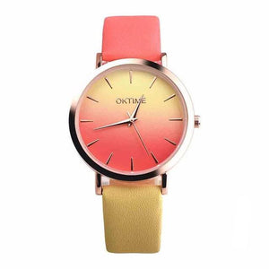 Rainbow Design Women Watch - Sdise