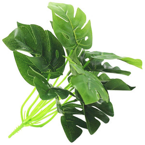 Artificial Plants Green Turtle Leaves Garden Home decor - Sdise