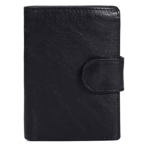 Baellerry Men Wallet Oil Wax Cowhide - Sdise