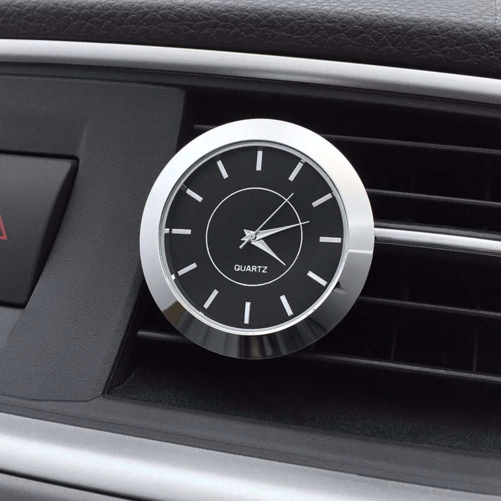 Car Ornaments Auto Air Vents Outlet Quartz Clock - Sdise
