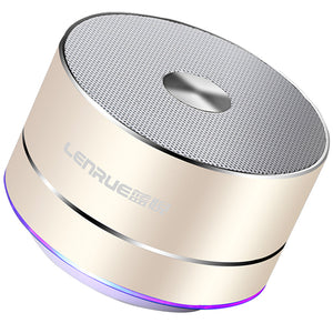 LENRUE Portable Wireless Bluetooth Speaker - Sdise
