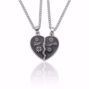 2 PCS Best Friends Necklace - Sdise