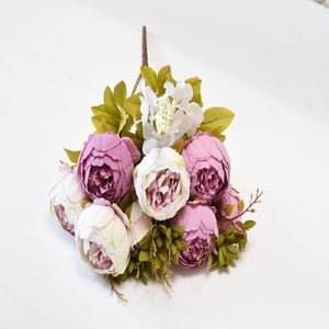 13 heads/Bouque Christmas Artificial Flowers - Sdise