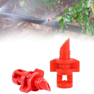 10 Pcs Micro Garden Adjustable Spray Misting Nozzle Agricultural Gardening - Sdise