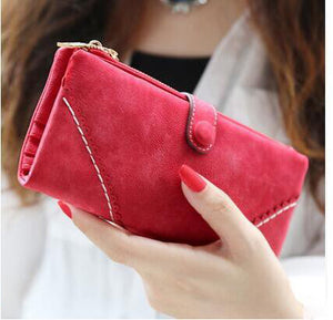 CCS Stitching leather Wallet - Sdise