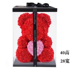 2018 Hot Sale 40cm Bear of Roses Artificial Flowers - Sdise