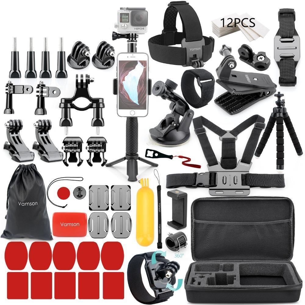 Vamson for Gopro Accessories set for go pro hero 7 6 5 4 - Sdise