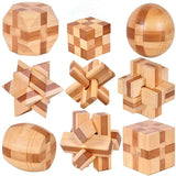 Wooden Interlocking Burr Puzzles Toy For Kids - Sdise