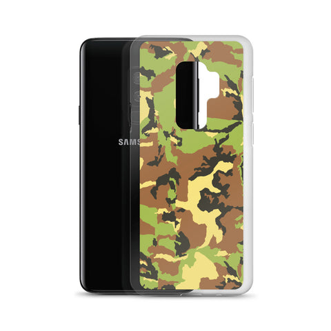 Green Camo Samsung Case