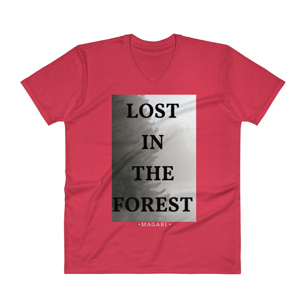Lost In The Forest V-Neck T-Shirt