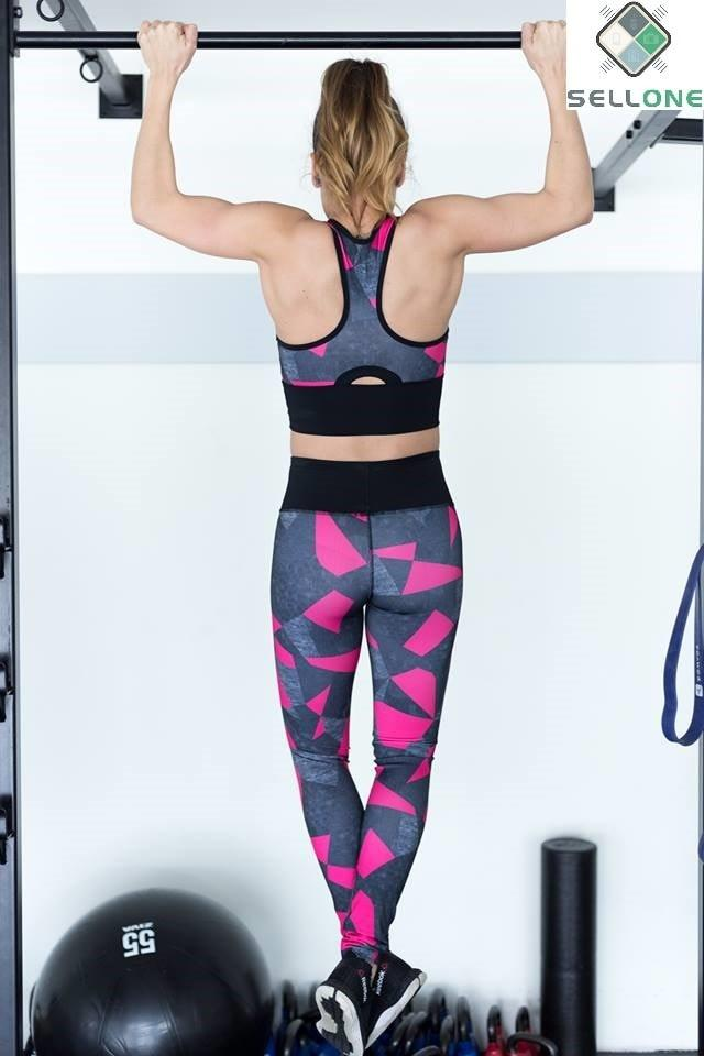 Leggings Triangle Pink