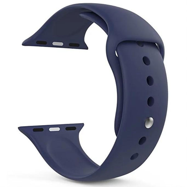 Bracelete Silicone Midnight Blue