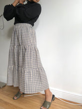 Load image into Gallery viewer, Cora Plaid Midi Skirt