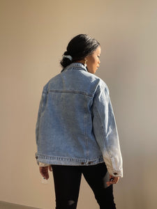 Mason Acid Dip Wash Denim Jacket