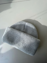 Load image into Gallery viewer, Classic Knit Beanie In Matte Grey