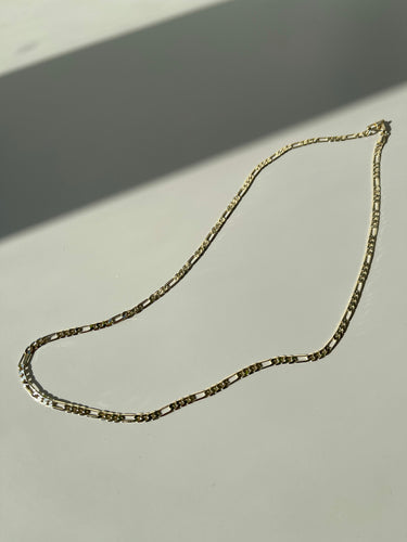 Trisha Classic Chain Necklace In Plated Gold