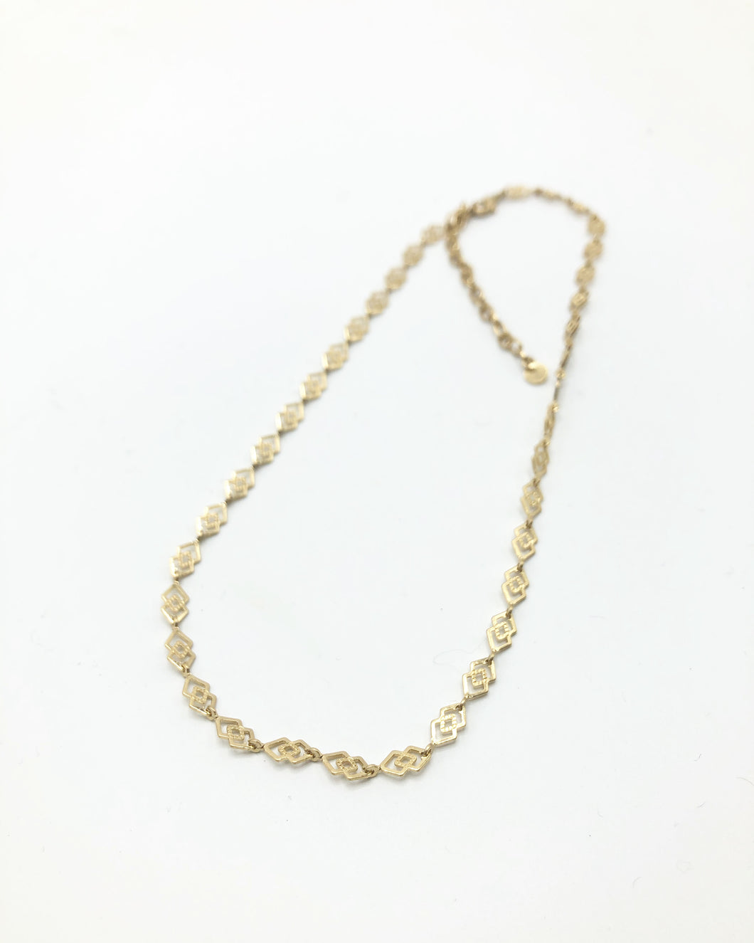Classic Chain Necklace In Gold