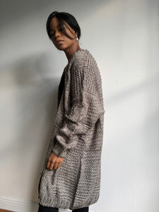 Debra Oversized Midi Chunky Sweater