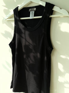 Daphne Classic Tank Top In Black