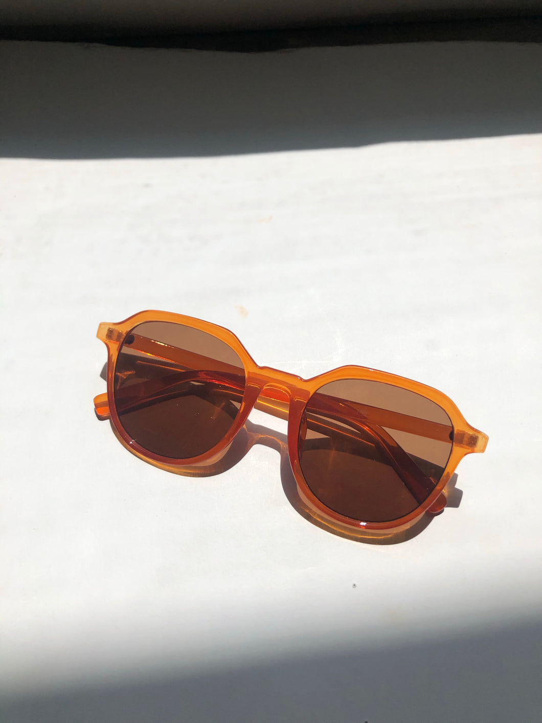 Ana Sunglasses In Tangerine
