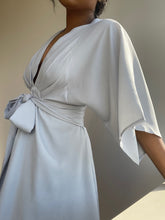 Load image into Gallery viewer, Jackson Mini Kimono Dress In Soft Blue