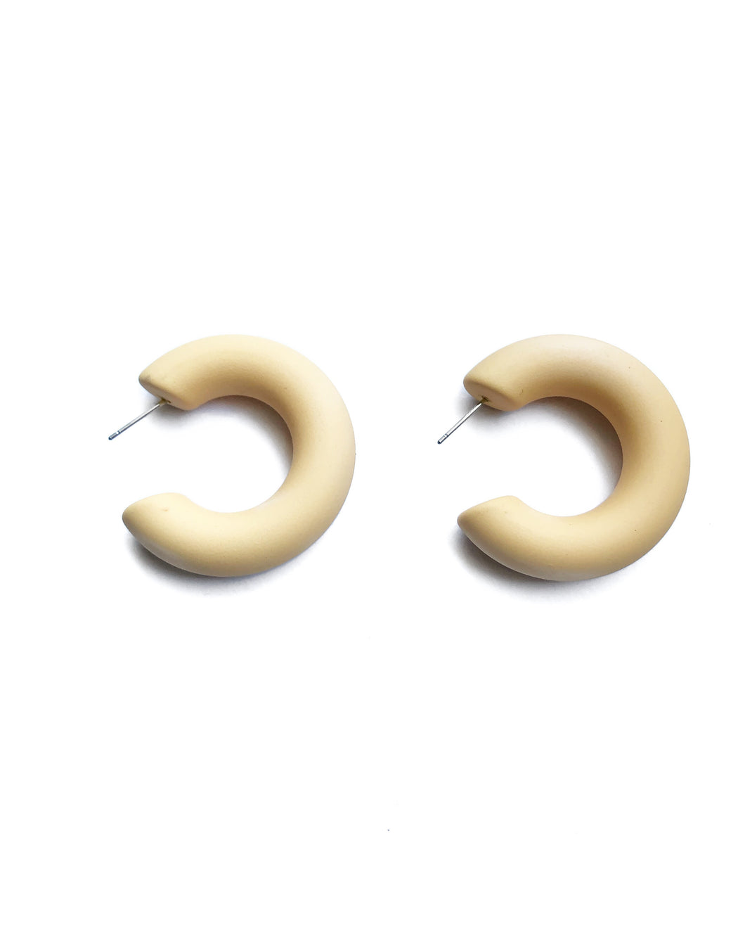 The Matte Hoop Earring