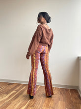Load image into Gallery viewer, Naomi Knit Flare Snake Print Pant