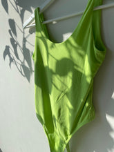 Load image into Gallery viewer, Hailey Seamless Bodysuit In Lime